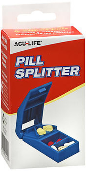 Acu-Life Pill Splitter PS12E - 1 Each
