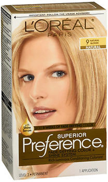 L'Oreal Superior Preference 9 Natural Blonde