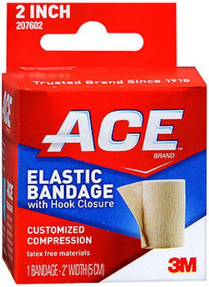 Ace Elastic Bandage with Hook Closure 2 Inch