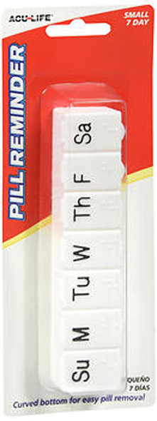 Acu-Life Pill Reminder Small 7 Day - 1 Each