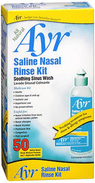 Ayr Saline Nasal Rinse Kit - 1 Bottle, 50 Refills