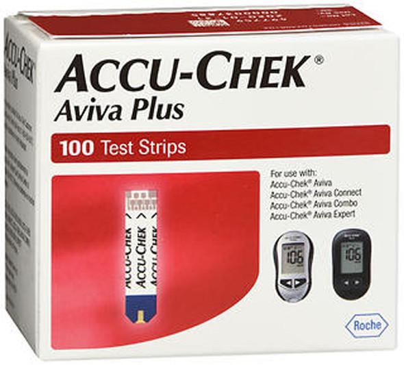 Accu-Chek Aviva Plus Test Strips -100 ct