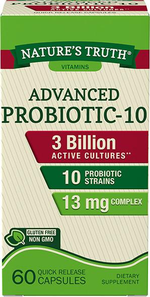 Nature's Truth Probiotic-10 Quick Release Capsules - 60 ct