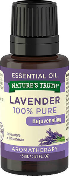 Nature's Truth Aromatherapy Essential Oil Lavender - .5 oz