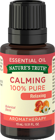 Nature's Truth Calming 100% Pure Essential Oil - .5 oz