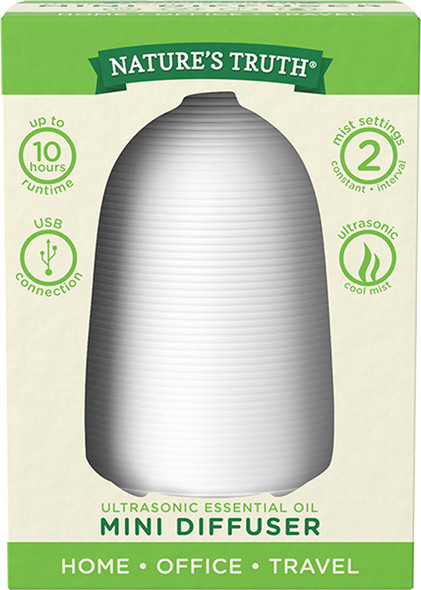 Nature's Truth Essential Oil Mini Diffuser - 1 each