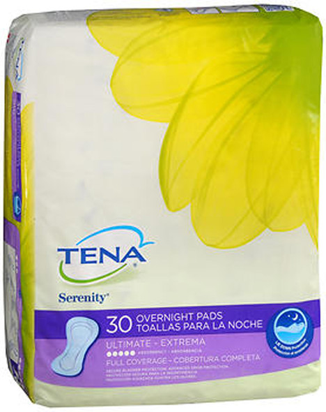 Tena Serenity Ultimate Full Coverage Overnight Pads - 3 pks of 28 ct