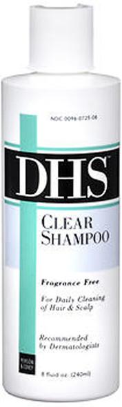 DHS Clear Shampoo Fragrance Free - 8 oz