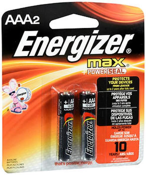 Energizer MAX + Power Seal Alkaline Batteries AAA