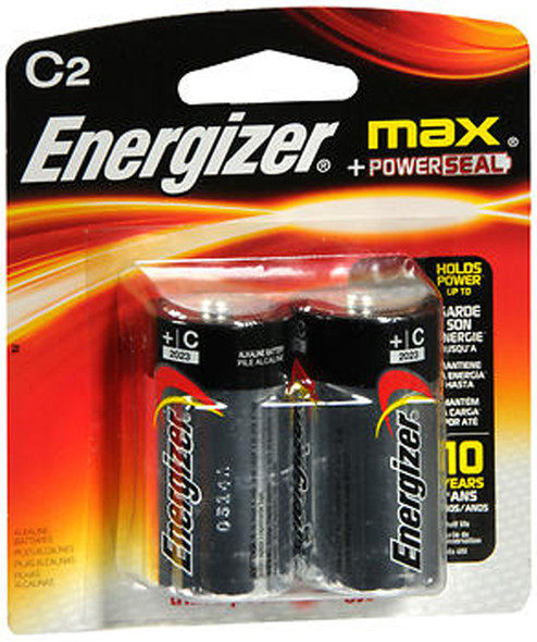 Energizer MAX Alkaline Batteries C - 2 pk