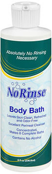 No Rinse Body Bath - 8 oz
