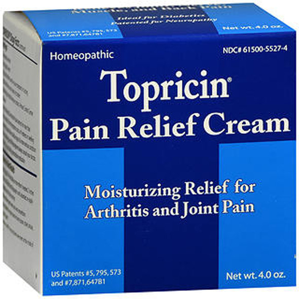 Topricin Pain Relief and Healing Cream - 4 oz
