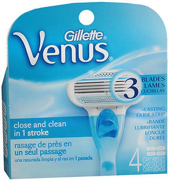 Gillette Venus Shaving Cartridges - 4 ct