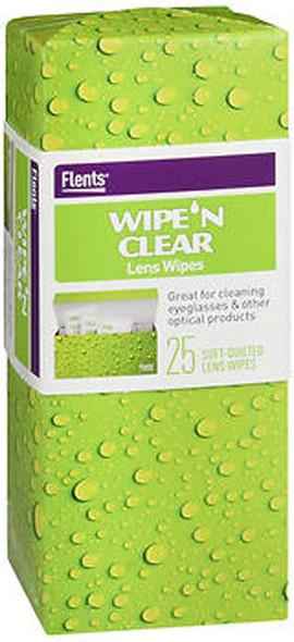 Flents Wipe 'N Clear Lens Wipes - 25 ct