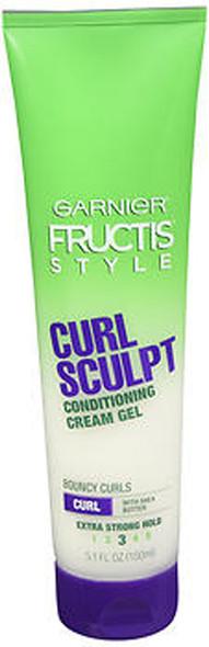 Garnier Fructis Style Curl Sculpting Cream Gel Extra Strong - 5.1 oz