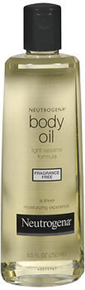 Neutrogena Body Oil Fragrance Free - 8.5 oz
