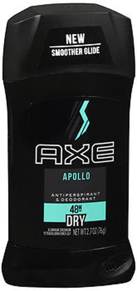 Axe 24 Hour Anti-Perspirant Deodorant Invisible Solid Apollo - 2.7 oz