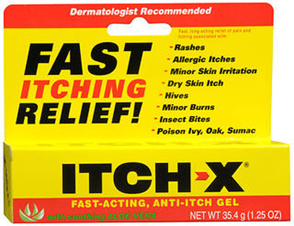Itch-X Anti-Itch Gel - 1.25 oz