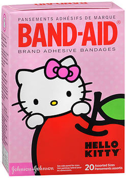 Band-Aid Bandages Hello Kitty Assorted Sizes - 20 ct