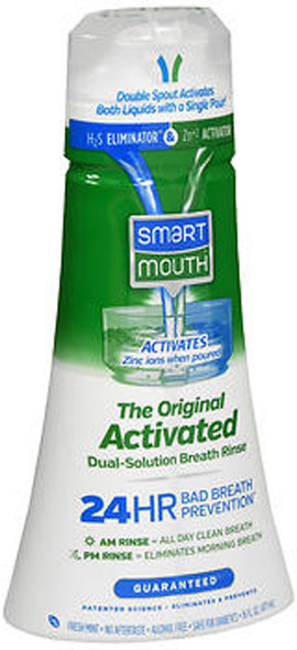 SmartMouth Original Activated Mouthwash Clean Mint - 16 oz