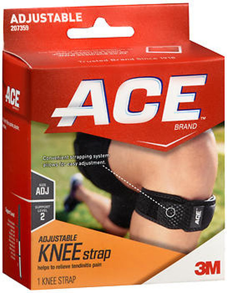 Ace Knee Strap Adjustable, Moderate Support - Each