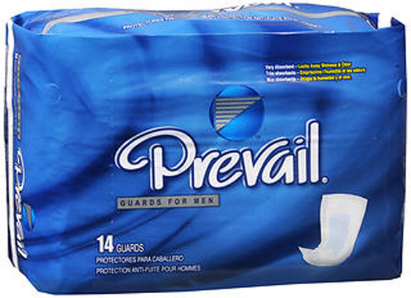 Prevail Male Guards - 9 pks of 14ct