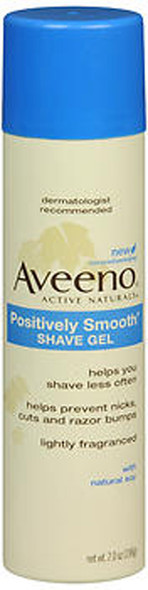 Aveeno Shave Gel Positively Smooth - 7 oz