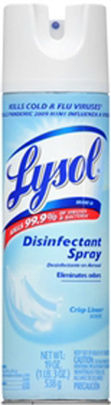 Lysol Disinfectant Spray Linen - 19 oz