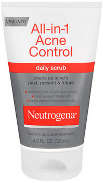 Neutrogena Acne All-in-One Daily Scrub - 4.2 oz
