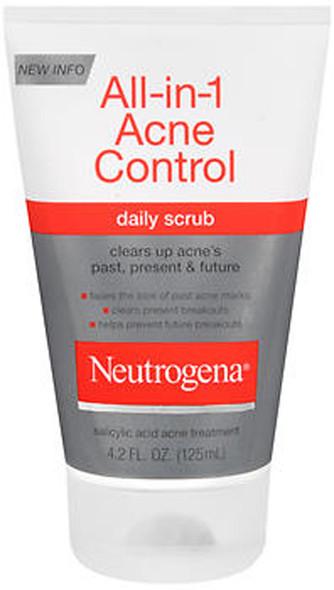 Neutrogena Acne All-in-One Daily Scrub - 4.2 oz