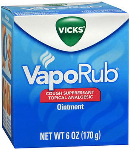 Vicks VapoRub Ointment - 6 oz