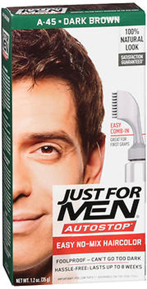 Just For Men Auto Stop Dark Brown