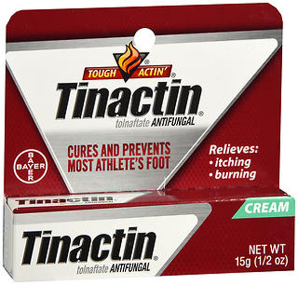 Tinactin Antifungal Cream, Athletes Foot - 0.5 oz