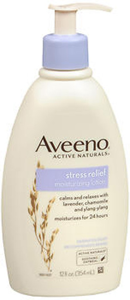 Aveeno Stress Relief Moisturizing Lotion - 12 oz