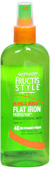 Garnier Fructis Style Sleek Shine Flat Iron Perfector Straightening Mist - 6 oz
