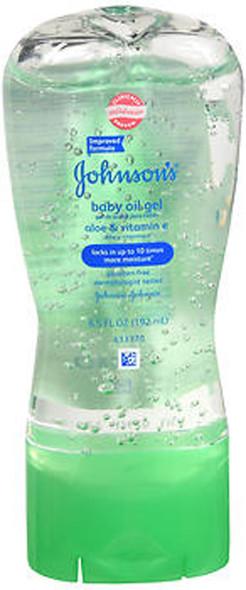 Johnson's Baby Oil Gel Aloe & Vitamin E - 6.5 oz