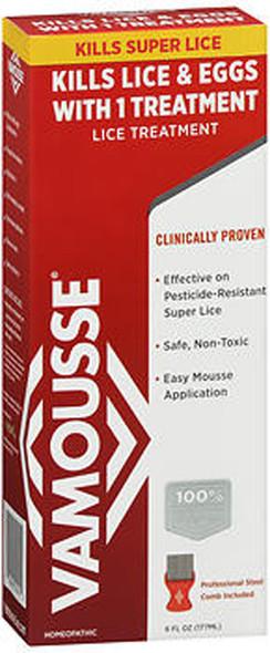 Vamousse Lice Treatment - 6 oz