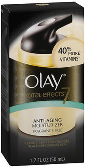 Olay Total Effects 7-in-1 Anti-Aging Moisturizer Fragrance Free- 1.7 oz