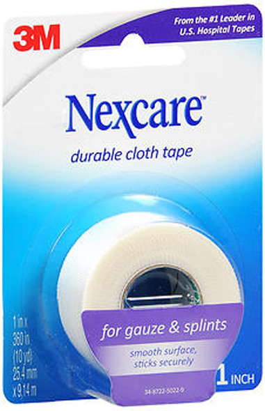 "Nexcare Durable Cloth Tape 1"" X 10 Yards - Each"