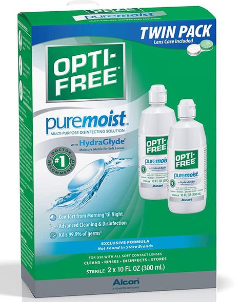 Opti-Free Puremoist Multi-Purpose Disinfecting Solution - 20 oz