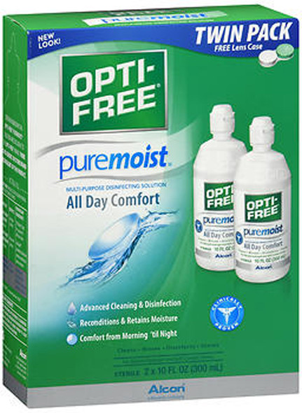Opti-Free Puremoist Multi-Purpose Disinfecting Solution - 20 oz