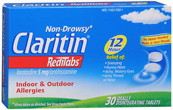 Claritin 12 Hour Allergy RediTabs - 30 Tablets