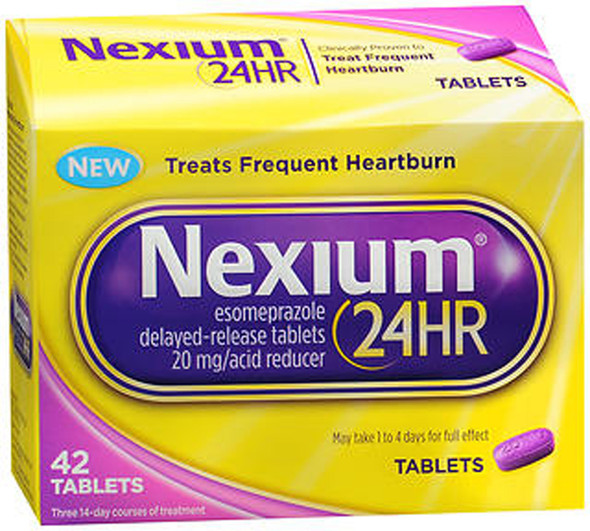 Nexium 24HR Acid Reducer Tablets - 42 ct