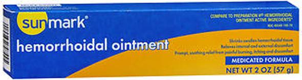 Sunmark Hemorrhoidal Ointment Medicated Formula - 2 oz