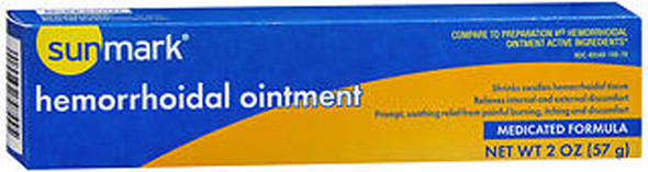 Sunmark Hemorrhoidal Ointment Medicated Formula - 2 oz
