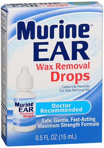 Murine Ear Wax Removal Drops - 0.5 oz