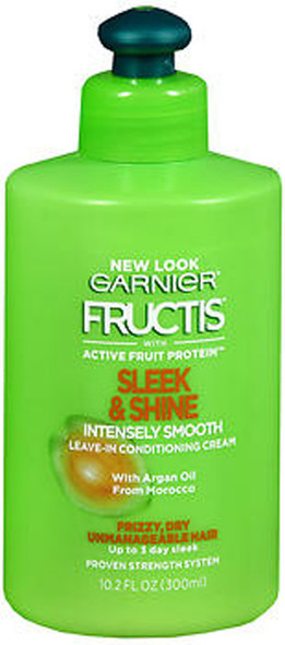 Garnier Fructis Sleek & Shine Intensely Smooth Leave-In Conditioning Cream - 10.2 oz