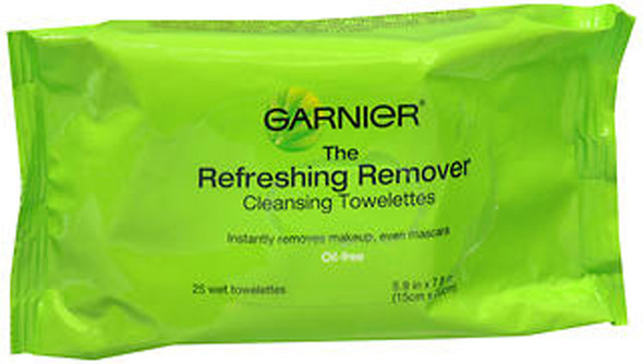 Garnier The Refreshing Remover Cleansing Towelettes - 25 ct