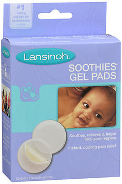 Lansinoh Soothies Gel Pads - 2 ct