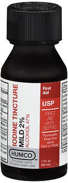 Humco Iodine Tincture Mild 2% Mild USP - 1 oz